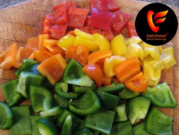 Red-Orange-Yellow and Green Peppers-Chef of the Future-Your Source for Quality Seasoning Rubs