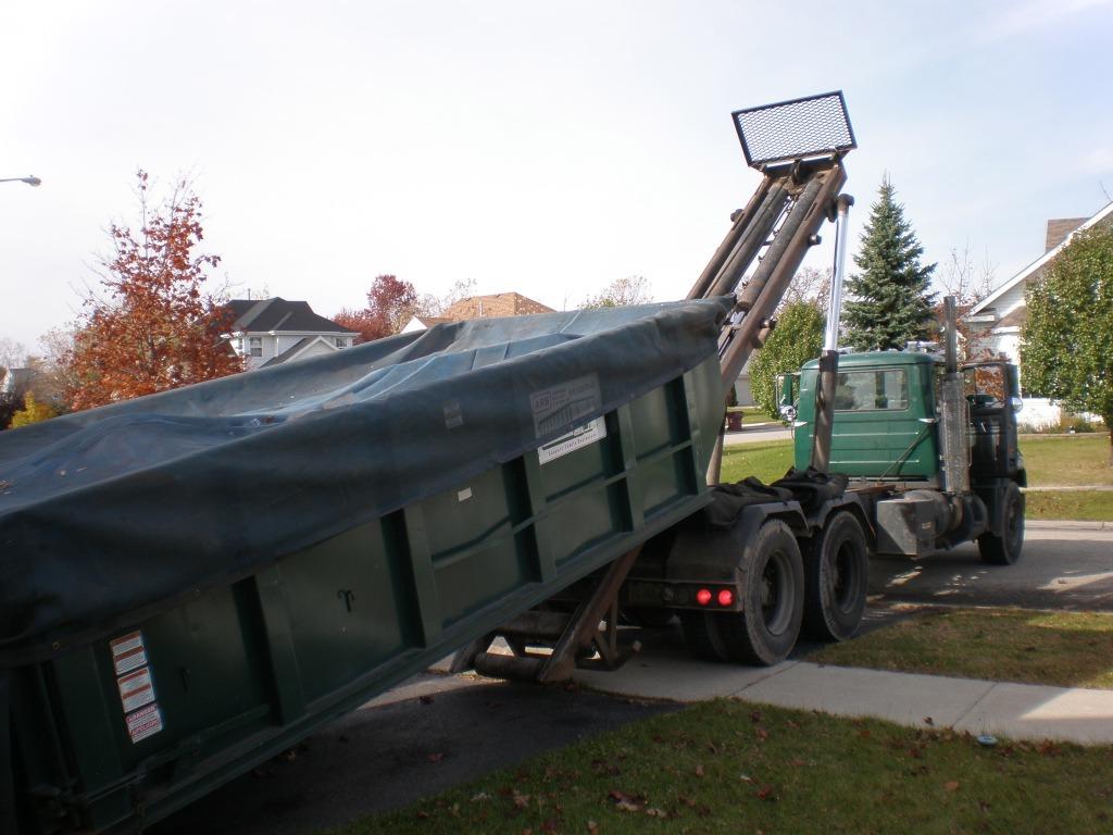 Image result for roll 0ff dumpster