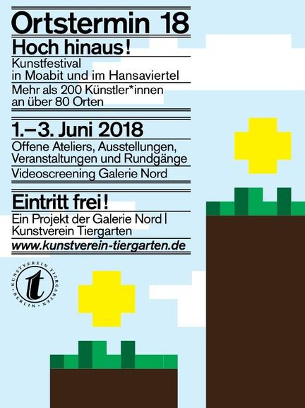 Irish artist Orfhlaith Egan takes part in a group show during the Kunstfestival Ortstermin 18: Hoch hinaus! in Atelier Artacta, Bredowstraße 11, Berlin-Moabit. Saturday from 3pm and all day Sunday. 2nd & 3rd June 2018.