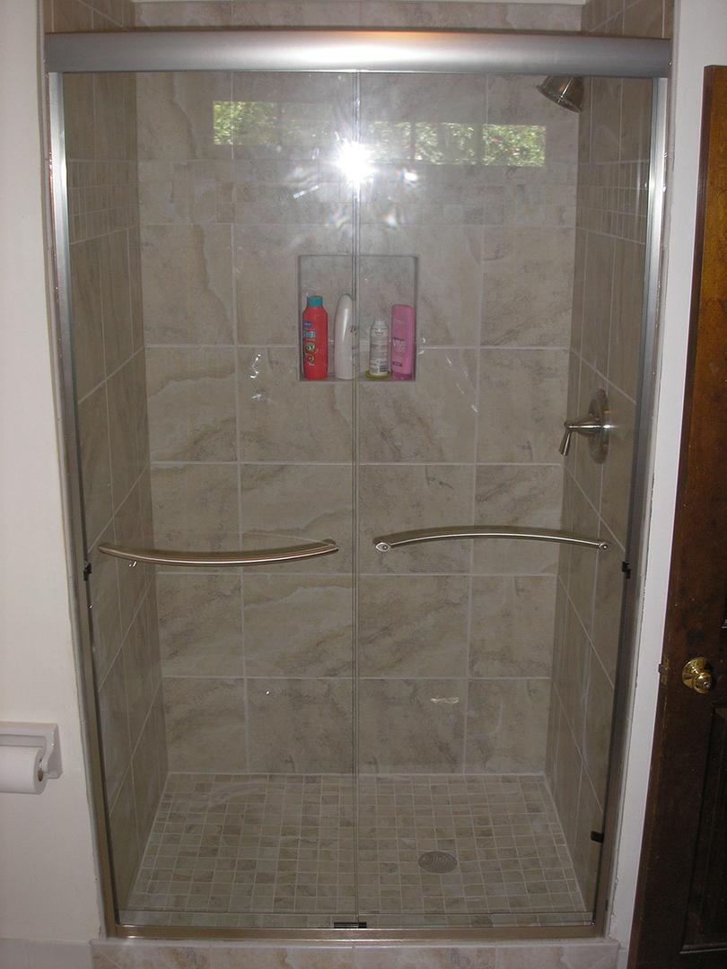 Semi Frameless Shower Doors Shower Doors By Tj