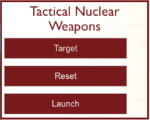 Tactical Nuclear Weapons Control Panel