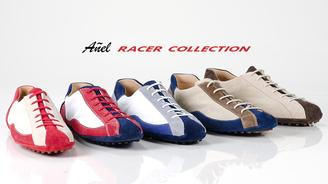 The Añel Racer Collection is entirely hand made in Italy with the finest materials for people passionate about fast cars.Handmade in Italy