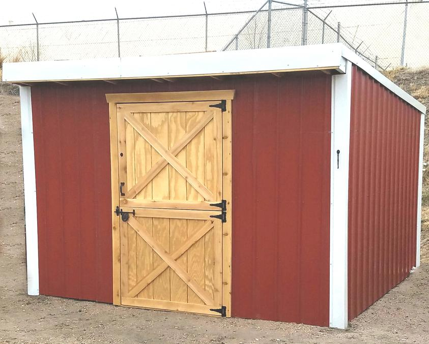 Barn Style Storage Shed, Hay Storage, Yard Storage, Shed, Sheds, run-in shed