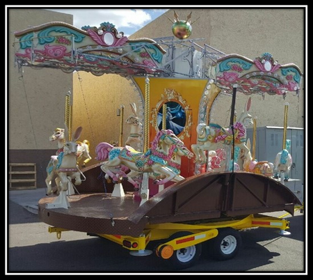 carousel in transport mode