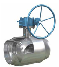 VAN BI - SUN VALVE - HÀN QUỐC ,THÉP ĐÚC - FULLY WELDED TRUNNION BALL VALVE