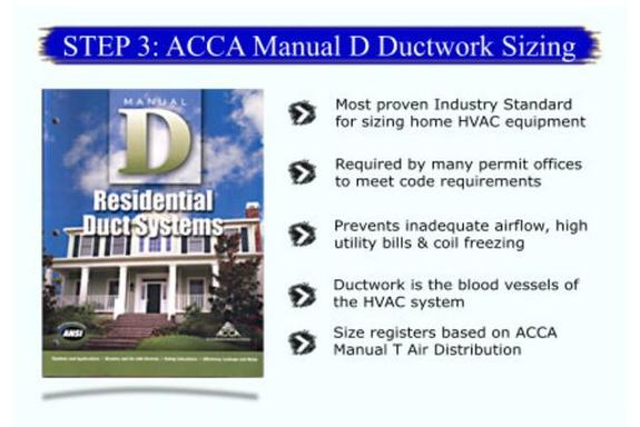 ACCA Manual D® - Residential Duct Systems - HVAC Manual D duct design