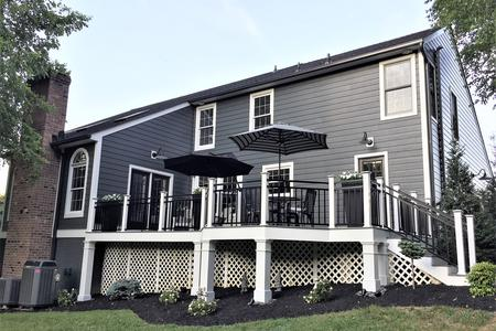 James Hardie Siding Iron Gray Siding Contractors Bethesda Md