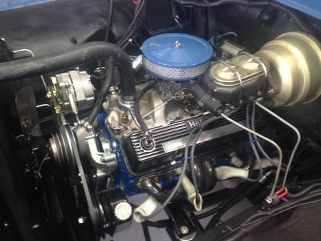 1958 ford with chevy motor