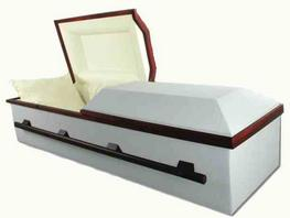 Cloth-covered Caskets, Covington Box
