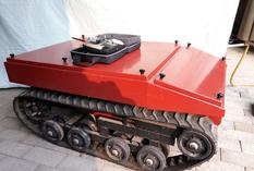 ​​Rubber Track ​Robot Platform , Tracked Robot Undercarriage