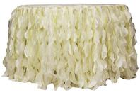 CURLY TABLESKIRT