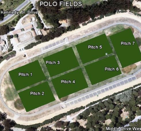 pitch orientation @ field complexes