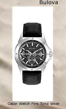 Bulova 96C113,mvmt watches men