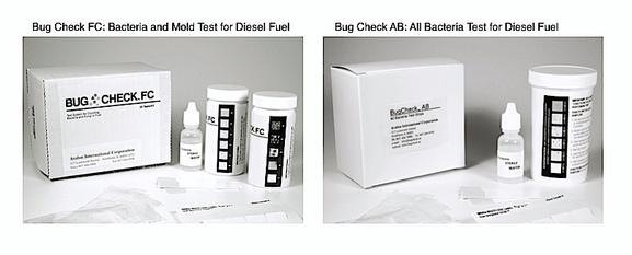 Bacteria Test for Diesel fuel, Fuel Test, Bug Check FC, Bug Check AB