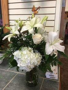 Love-Fulfilling White Lilies