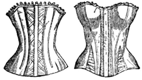 21b9fe73da8 You will need boning and a wooden or a metal busk to create this garment.