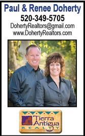 Paul & Renee Doherty, Realtors, Tierra Antigua Realty Sierra Vista
