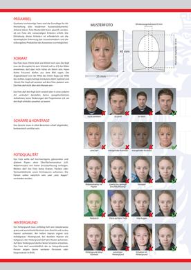 Austrian Passport and Visa Photo Requirements