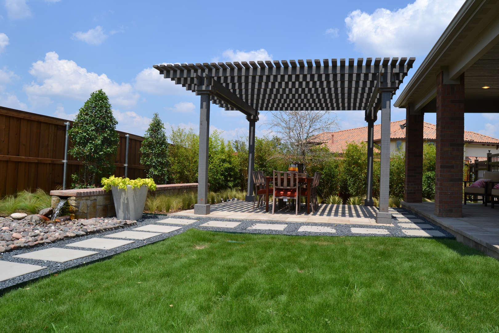 Garden Design Landscaping in Dallas