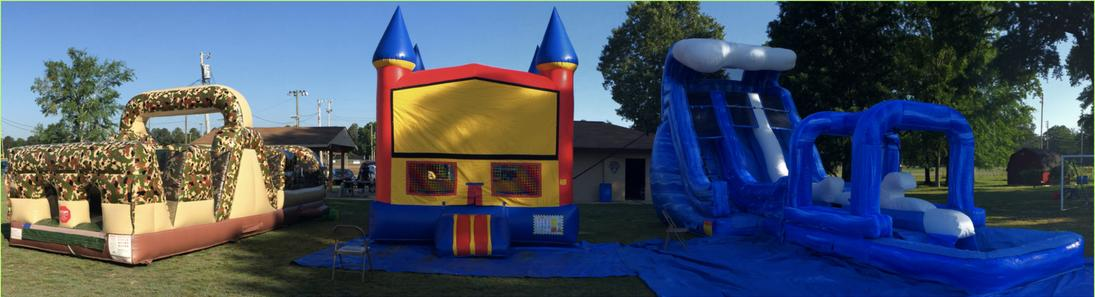 bounce house rental fort o