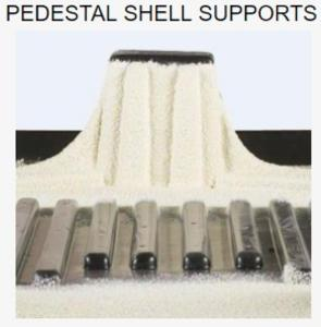Pedestal Shell Supports
