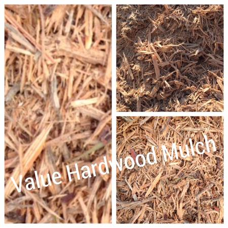 Value Hardwood Native Natural Mulch