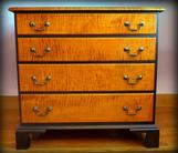 Four Drawer Chippendale Chest