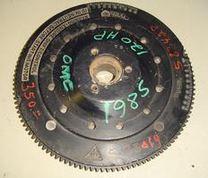 583019, 583371, 583428 Used flywheel for a 120 hp 1985 Johnson or Evinrude outboard motor. OEM #583019, 583371, 583428
