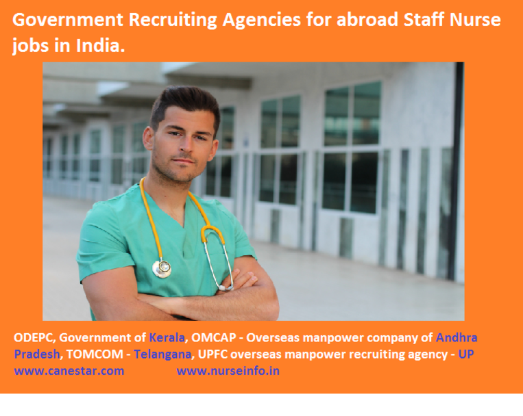 Government recruiting agencies for abroad staff nurse jobs