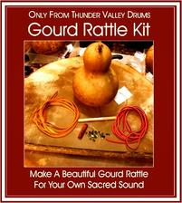 gourd rattle kit photo from thunder valley drums