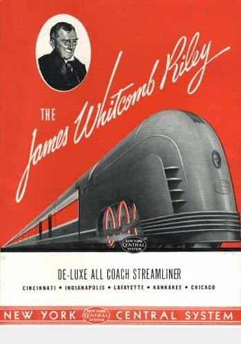 James Whitcomb Riley streamliner.