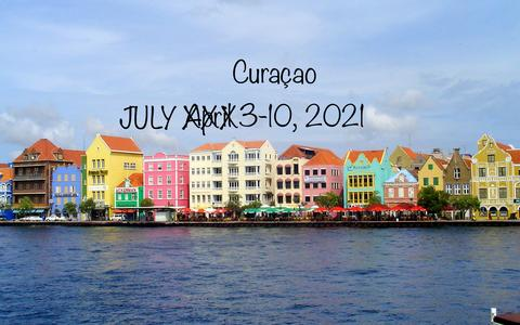 Colorful downtown Willemstad buildings