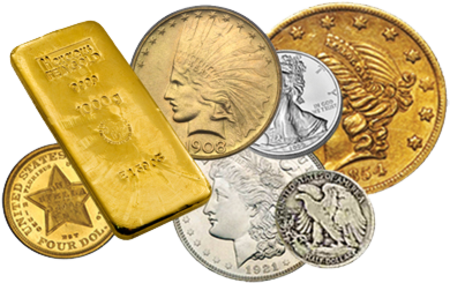 Gold Silver and Bullion Coins