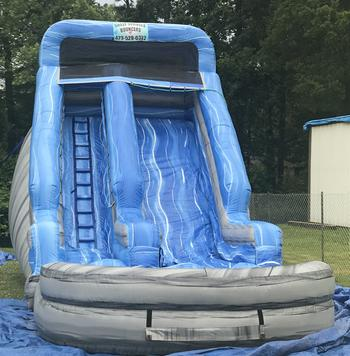 adult water slide rental athens tn