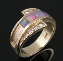 Opal ring ready for repair.