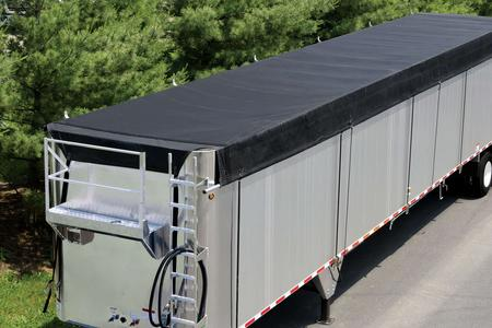 Aero Ratchet Side Roll for transfer trailers and walking floor trailers.
