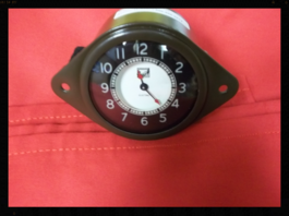 35 Buick Clock with Quartz Conversion