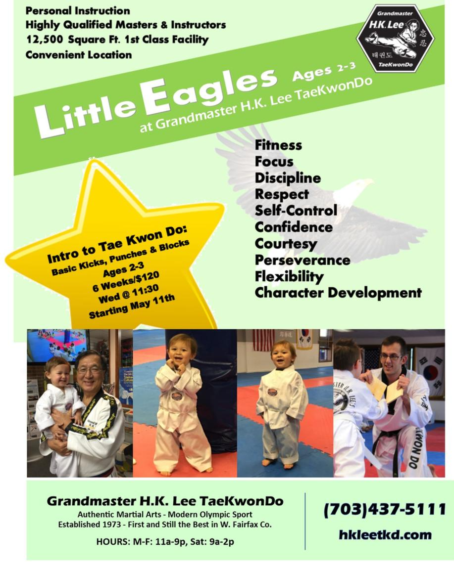 Flyer - Little Eagles