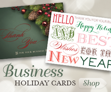 Shop Business Holiday Cards