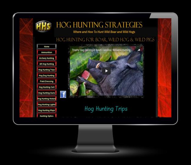 Hog Hunting Website Marketing
