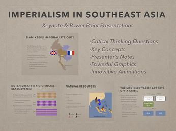 Imperialism In Southeast Asia History Presentation