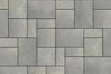 Unilock Manufactured Concrete Paver Umbriano in Color French Grey