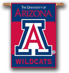 Arizona Wildcats House Flag