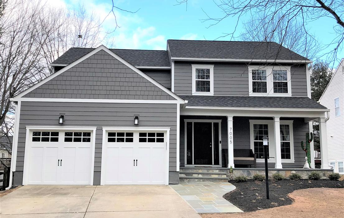 Hardie Siding Aged Pewter | Siding Contractor Columbia, MD