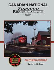 Canadian National Through Passenger Service In Color