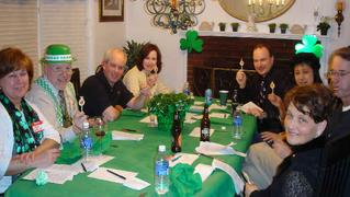 Suspects for Host a Downloadable DIY St. Patrick's Day Murder Mystery Party Kit: Death Plays a Role from Laurel Francoeur of Boston, Massachusetts