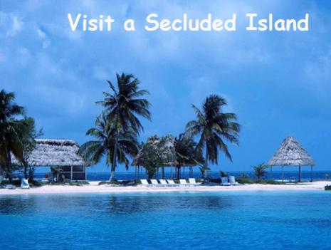 A small island rests on top of the Belize barrier reef. Dotted with palm trees and palapas for enjoying a day at the cayes. Belize Snorkeling Tours