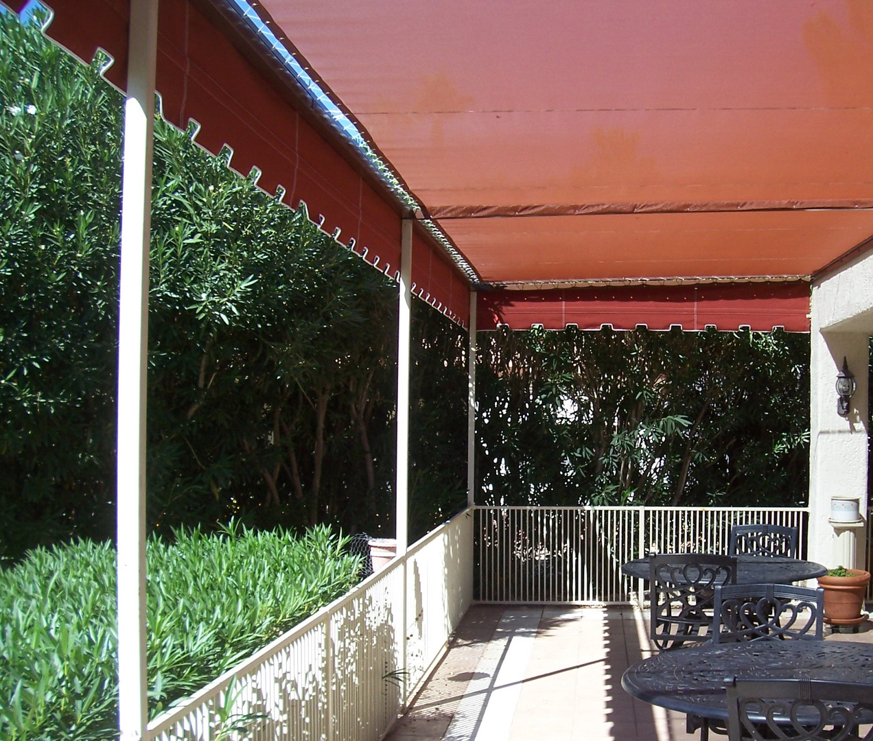 awnings the house of canvas