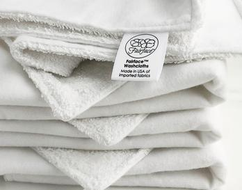 Best dual wash cloth for sensitive skin Fairface Originals
