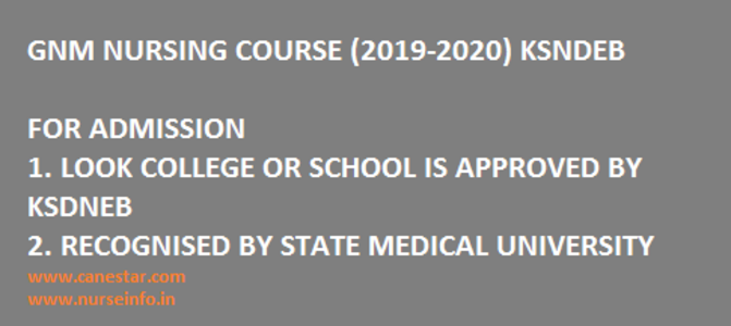 Gnm Nursing Course Inc Approved Or Recognized Nursing Colleges In India 2019 2020